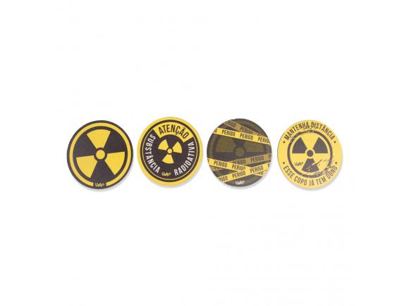Porta-copos - radioativo